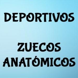 Deportivos   Zuecos anatómicos